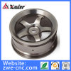 Aluminum CNC Machined Wheel for Toy Car, Aluminum CNC Machining