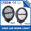 8′′ Round Shape CREE LED Work Light Heavy-Duty