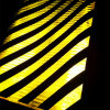 Prismatic Slanting Stripe Reflective Film for Road Safety