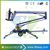 12m 16m Mobile Towable Trailed Aerial Man Lift Equipment