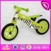 Best Specification Wooden Bike for Kids, Cute Zebra Design Wooden Balance Bike, Promotional Gift Wooden Bike for Kid W16c124