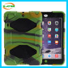 3 in 1 Full Protection Silicone+Plastic Tablet PC Protective Cover Case for iPad Mini