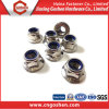 High Quality Stainless Steel Hex Serrated Flange Nylon Nut
