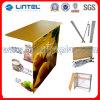 Aluminum Fabric Pop up Desk Folding Promotion Counter (LT-09B)