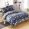 Double Brushed Microfiber Printed Bed Sheet Set Bed Linen in Lowest Price