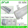 Dull Polish Cover LED Vapor Tight Fixture with High Light Transmission