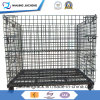 Industrial Stackable and Foldable Storage Warehouse Steel Cage