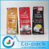 Multi-Layer Laminated Bottom Gusseted Bag for Coffee Packaging