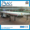 20′ and 40′ Container Carrier Flatbed Semi Trailer, Two Axles and Three Axles
