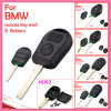 Auto Remote Key Shell for BMW with 2 Button Cupronickel Key Blade