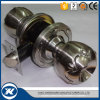 Cylindrical Zinc Alloy Round Knob American Market Door Locks