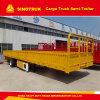 50ton Truck Trailer Tri-Axle Sinotruk Cargo Semi Trailer