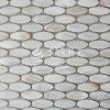 2017 White Shell Mosaic Mother of Pearl Glass Mosaic Building Material for Wall300*300mm