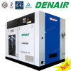 Silent Stationary Oilless Oil-Free Oil Less Rotary Screw Air Compressor Manufacturer