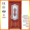 Solid Wood Doors Interior Door with Decorative Glass