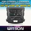 Witson Car DVD for Citroen C-Crosser Car DVD GPS 1080P DSP Capactive Screen WiFi 3G Front DVR Camera