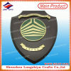 HK Souvenir Casting Metal Plate Wooden Plaque OEM Awards Shield