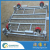 Storage Collapsible Wire Mesh Roll Container Lifting Type
