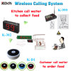 Customer Call Ordering Service and Cooker Pager Wireless Calling Use in Restaurant