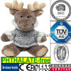 EN71 Soft Stuffed Animal with Coat Deer Moose Plush Toy
