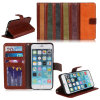 Wallet Leather Mobile Cell Phone Case for iPhone6