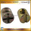 Color Zinc Plated Hammer Nut for Furniture
