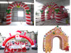 Waterproof Inflatables Outdoor Christmas Arch for Decoration