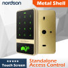 Nt-T12 Metal Touch-Screen RFID Access Control (Card +Code)