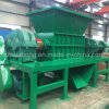 Double Shaft Waste Rubber Tire Recycling Plant Shredder Machine for Sale