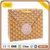 White Card Paper Yellow Diamond Shopping Bag