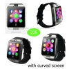Hot Selling Fashion/Digital/Bluetooth Wrist Smart Watch Phone with Camera Q18