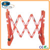 Expandable Plastic Road Safety Barrier