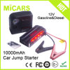 Spark Cable Battery Jump Start 600A 10000mAh Rechargeable Car Jump Starter