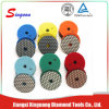 4 Inch Honeycomb Diamond Granite Dry Polishing Pads