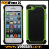 PC+TPU+Silicon Materias Hard Hybrid Case Cover for Apple iPhone 5c Mobile Phone