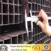 Black Square Tube Iron Fence Profile