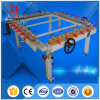 Manual Wheel Screen Mesh Stretching Machine