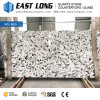 New Design Marble Look Quartz Stone for Wall Panels/Vanity Tops with Polished Stone Surface