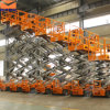 14m Outdoor Manlift Scissor Lift for Rental