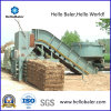 Automatic Horizontal Hydraulic Straw Hay Baler with Conveyor