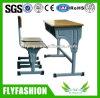 Cheap School Furniture Student Desk Chair Set Table Chair Set Guangzhou (SFQ-9)