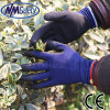 Nmsafety Nylon Liner Palm Coated Latex Work Glove