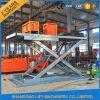Hydraulic Stationary Scissor Car Parking Lift Garage Car Lift