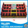 Popular Design with Trampoline for Playground (QL-1201G)