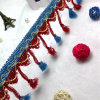 3 Colors Tassel Fringe for Decorations