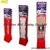 Paper Hooks Display, Cardboard Display Stand, Pop Showcase, Paper Rack, Paper Shelf (B&C-B039)