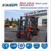 3ton All Rough Terrain Forklift with Spare Parts for Sale