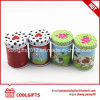 Christmas Gift Round Chinese Green Tea Tin Box with Double Lid