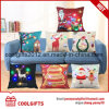 Wedding Sofa Decoration Merry Christmas Design Multi-Colors LED Pillow Cover