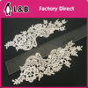 Embroidered Pair Polyester Lace Collar Neckline